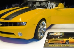 Camaro Mat With Yellow Car